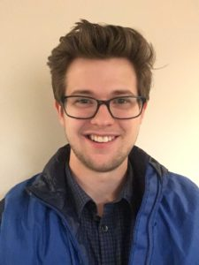 March Volunteer of the Month – James Croft