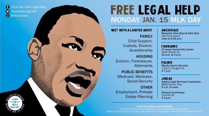 9th Annual MLK Day Free Legal Help Clinic