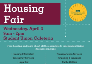 UAA Housing Fair: Opportunity for free civil legal help for UAA students